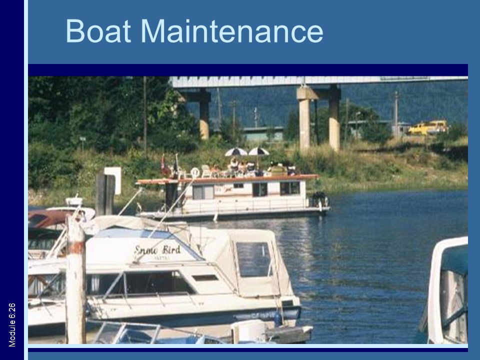Boat Maintenance Module 6:26