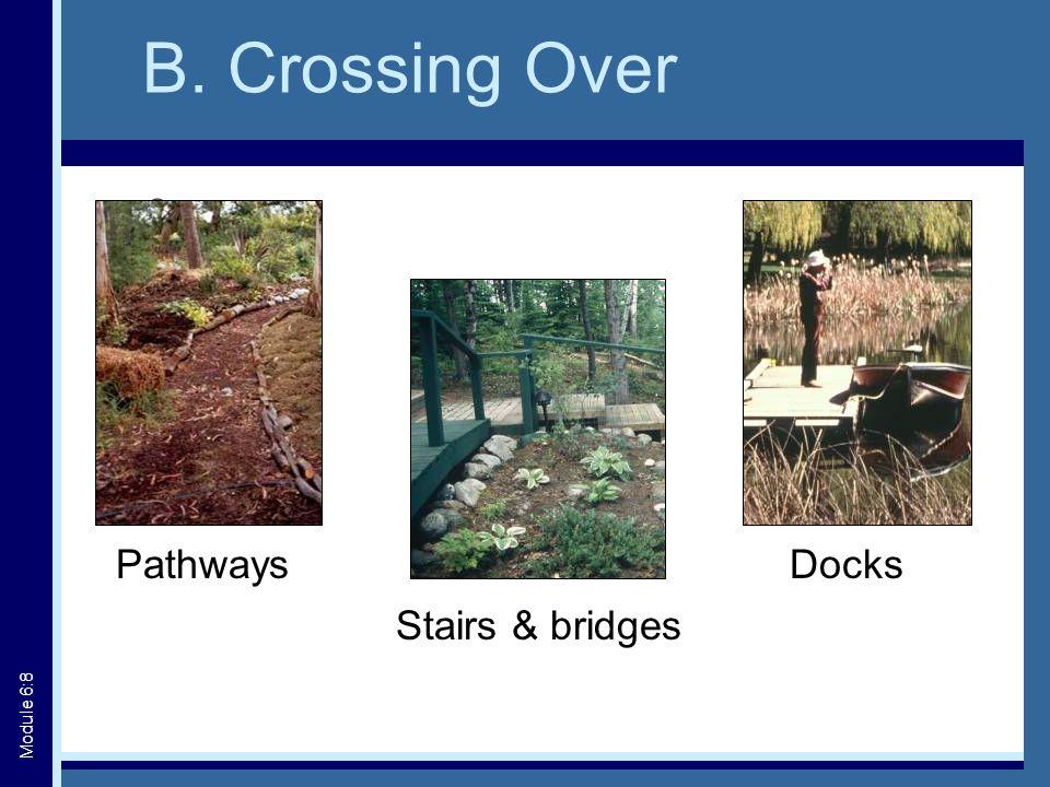 Crib Docks Photo credit: DFO/Cottage Life Module 6:19