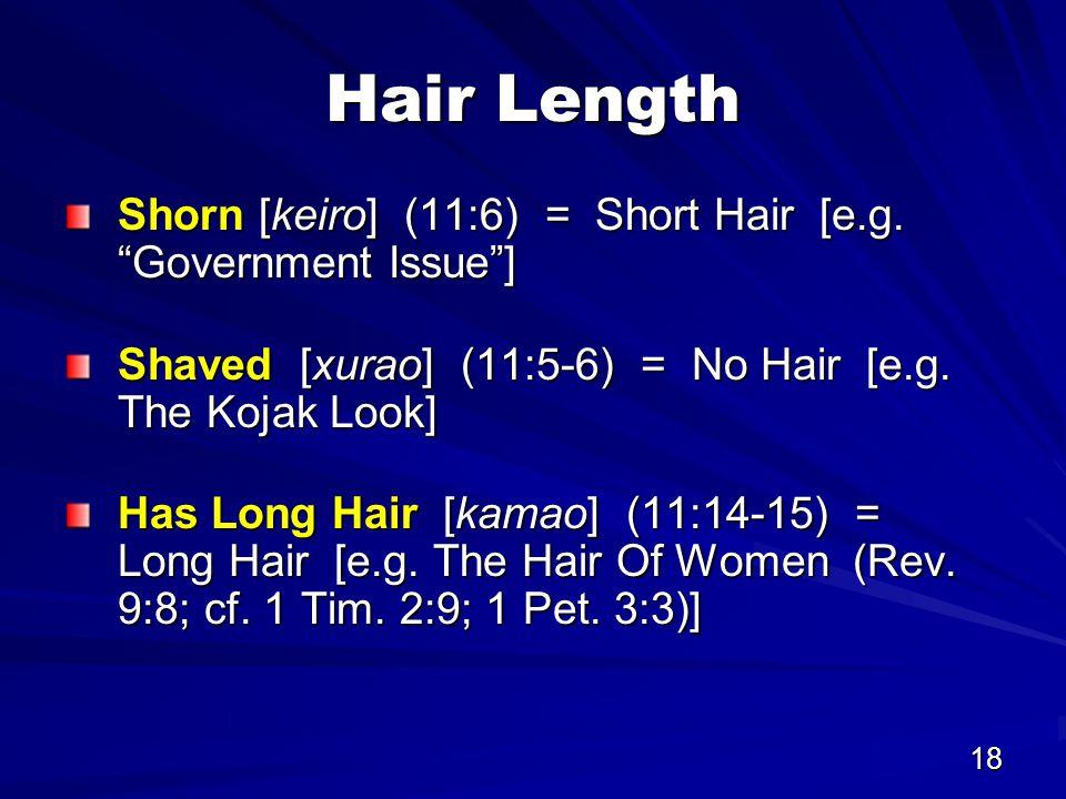18 Hair Length Shorn [keiro] (11:6) = Short Hair [e.g.