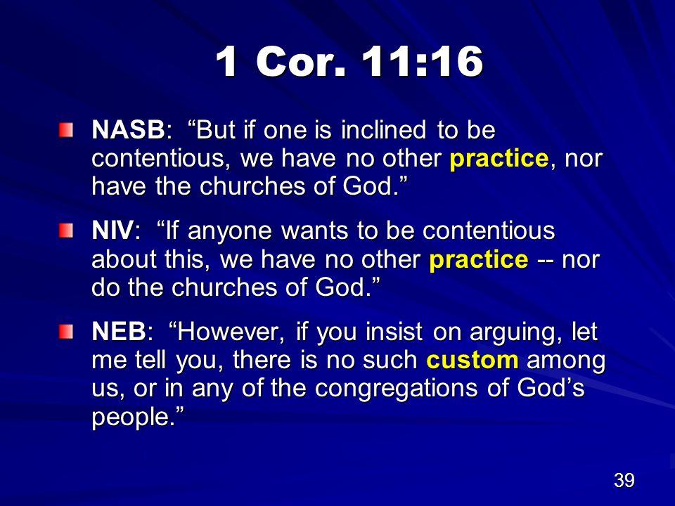 39 1 Cor.