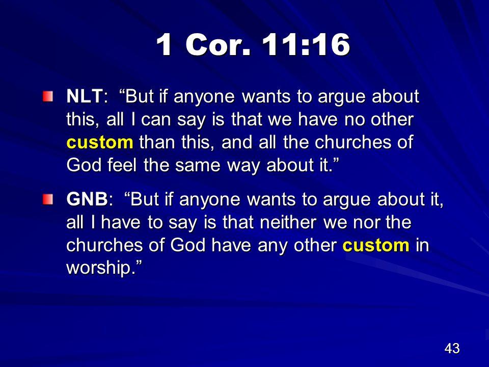 43 1 Cor.