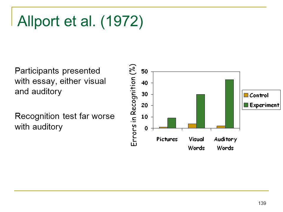 139 Allport et al.