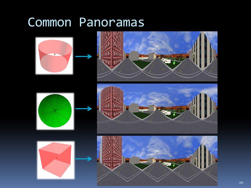 Common Panoramas 20