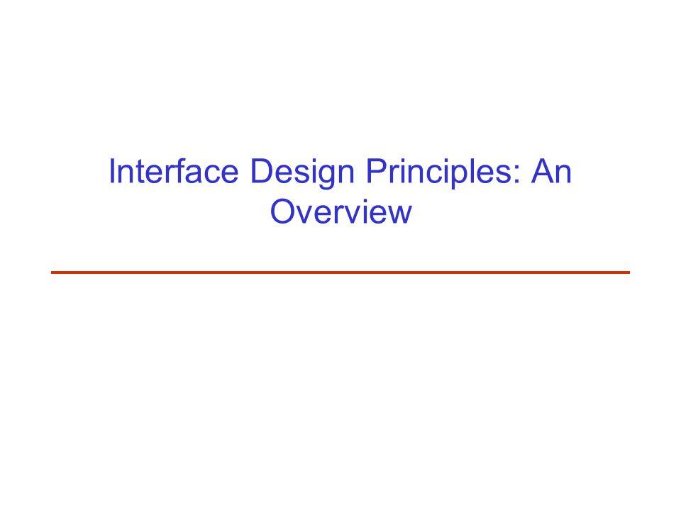 Logical User-Centered Interactive Design Methodology Six stages –Develop product concept Create concept, set up design team.