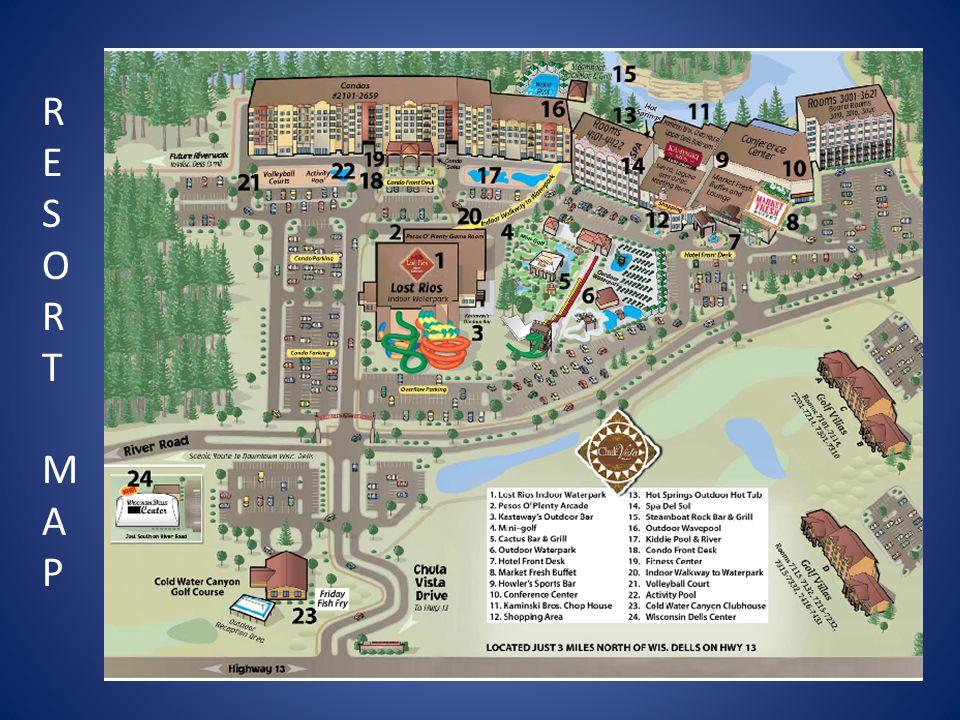 RESORT MAPRESORT MAP