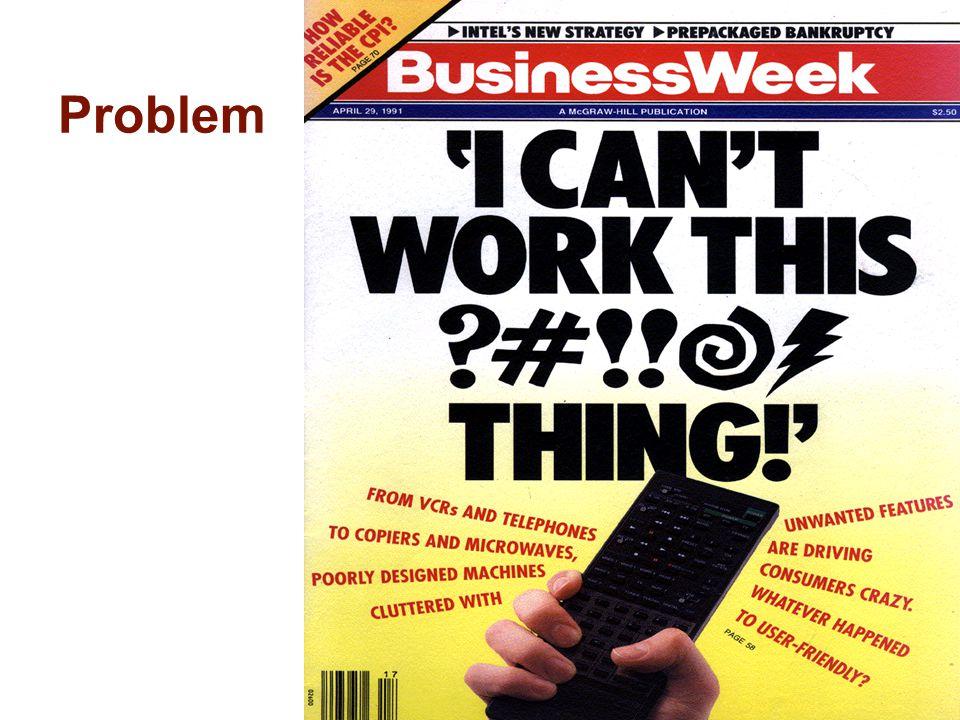 41 Problem Too many remotes