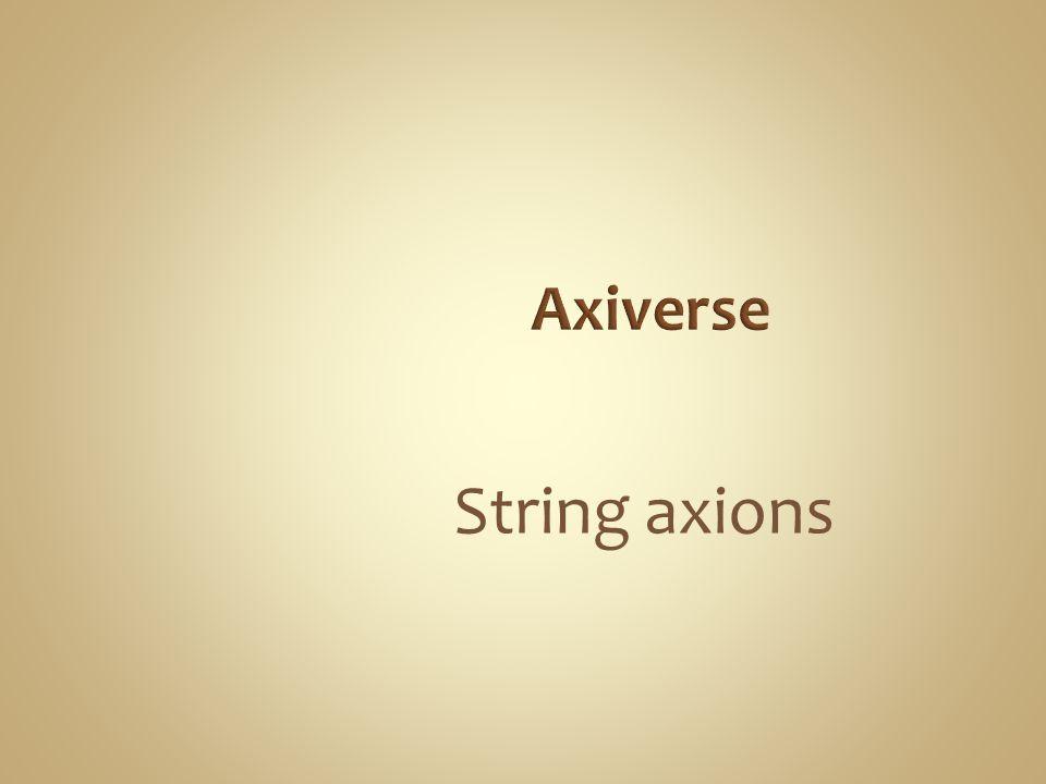 String axions