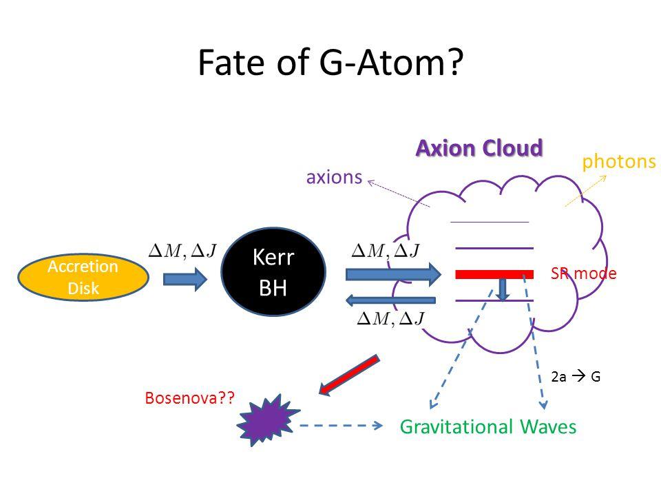 Fate of G-Atom.