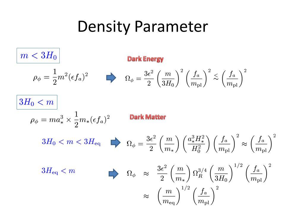 Density Parameter