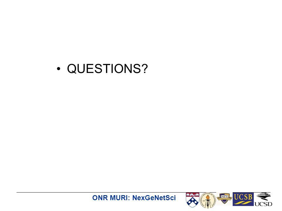 ONR MURI: NexGeNetSci QUESTIONS?
