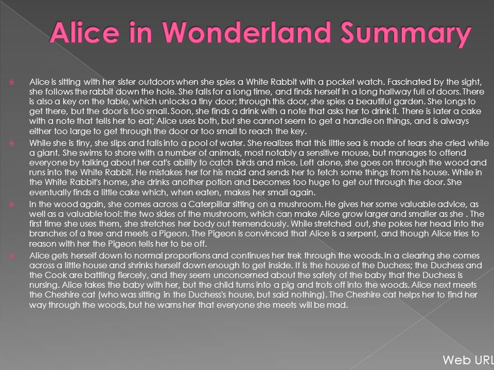  Alice is sitting with her sister outdoors when she spies a White Rabbit with a pocket watch.