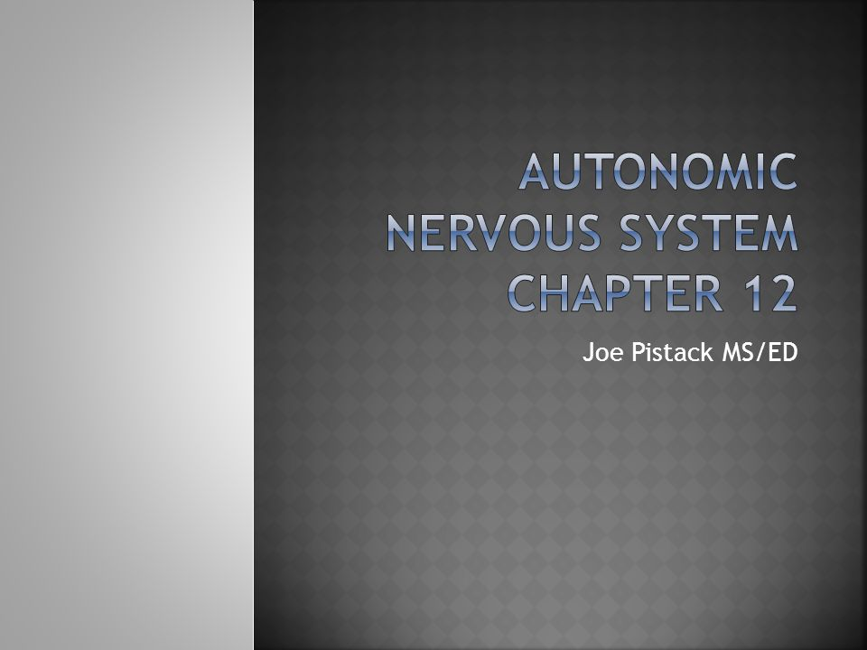  There is a decrease in the speed of nerve conduction.