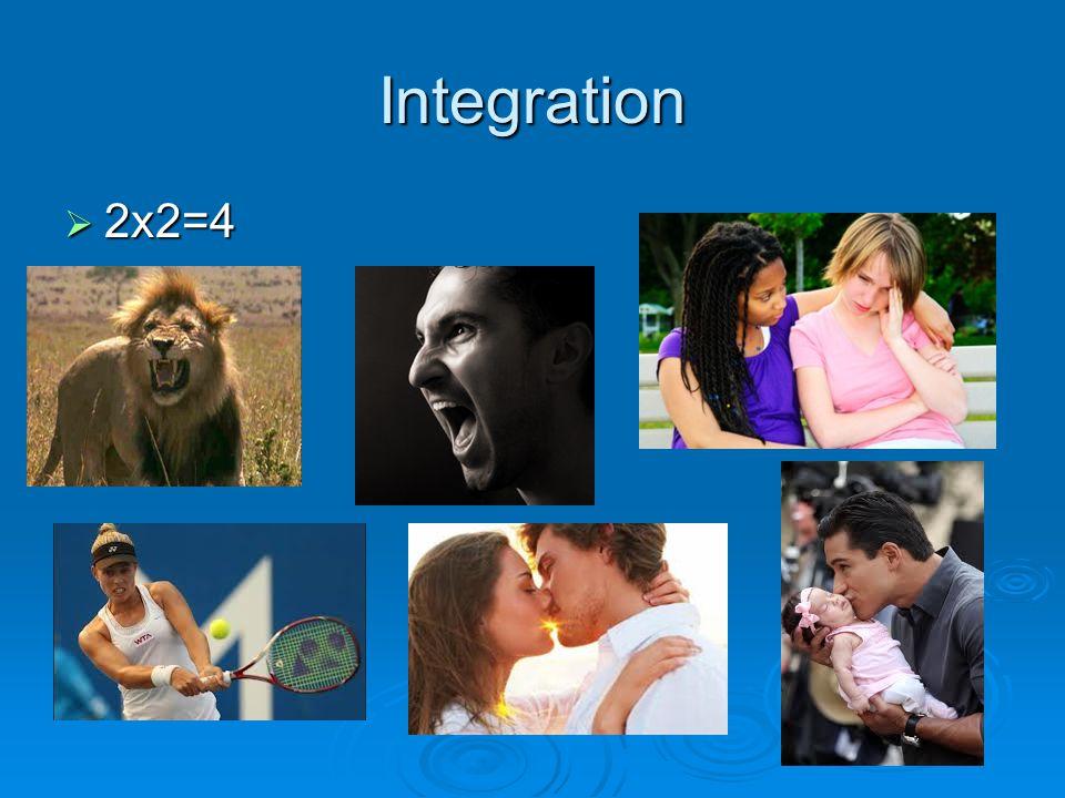 Integration  2x2=4