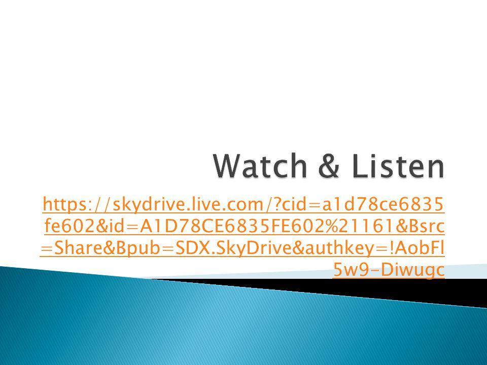 https://skydrive.live.com/?cid=a1d78ce6835 fe602&id=A1D78CE6835FE602%21161&Bsrc =Share&Bpub=SDX.SkyDrive&authkey=!AobFl 5w9-Diwugc