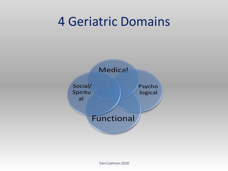4 Geriatric Domains Dan Cushman 2010