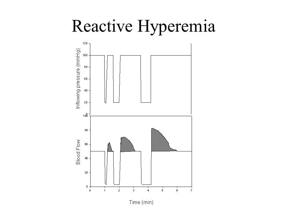 Reactive Hyperemia