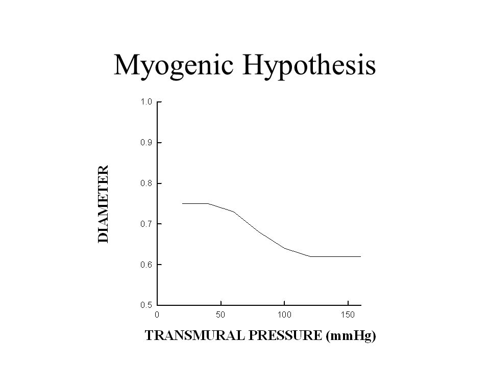 Myogenic Hypothesis