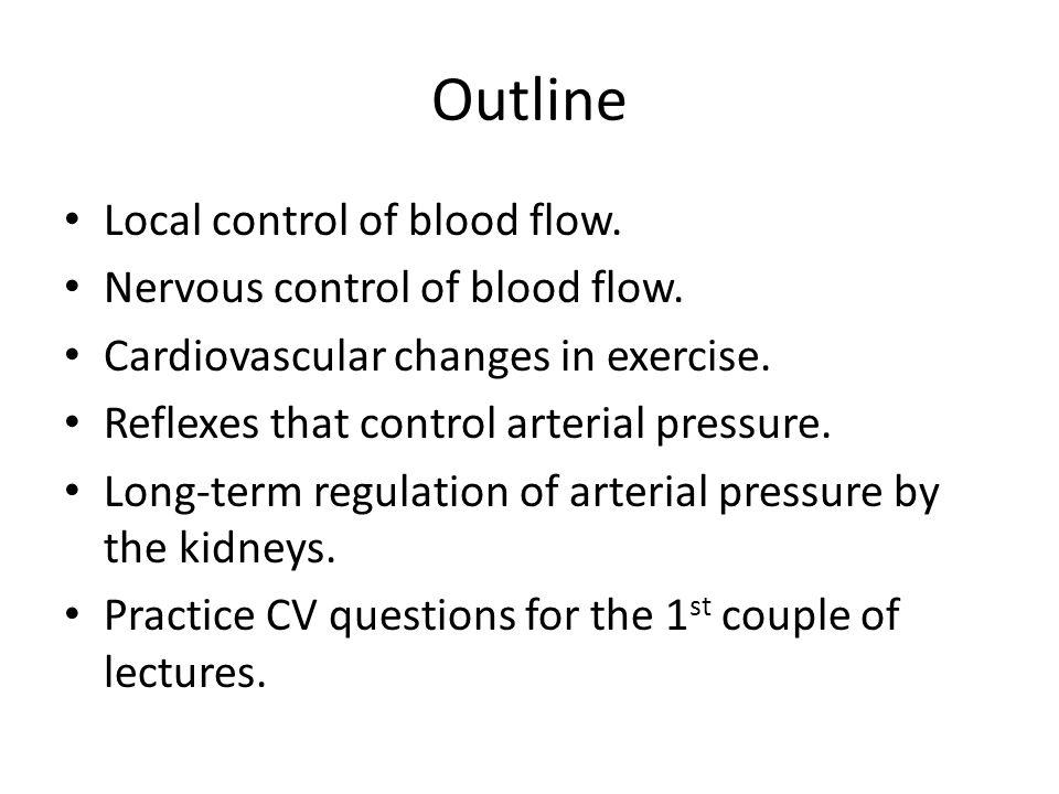Control of Cardiovascular Function – Hormones Increased Blood Pressure