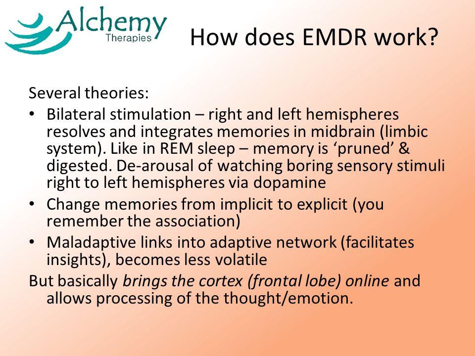 How does EMDR work.