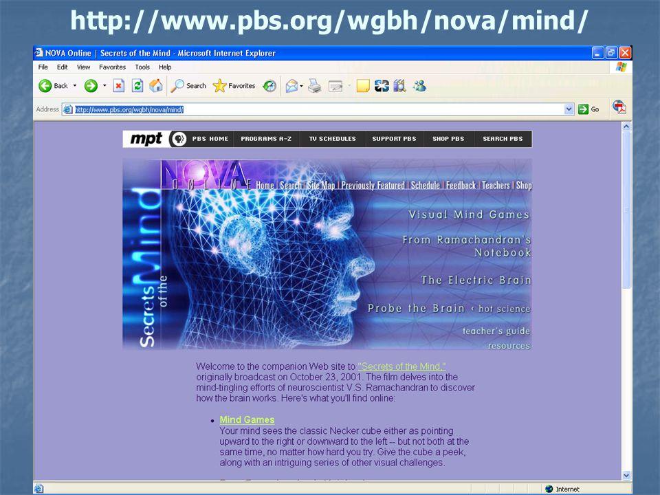 57 http://www.pbs.org/wgbh/nova/mind/