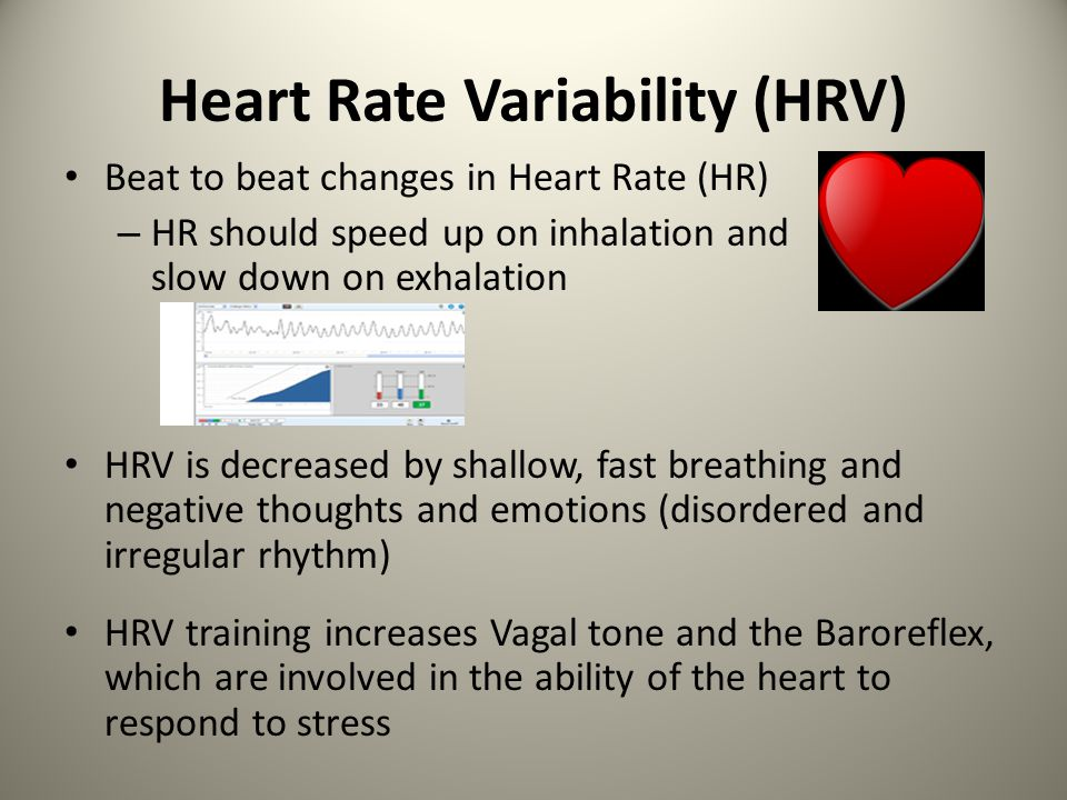 Why Emphasize Heart Rate Variability and Optimal Breathing.