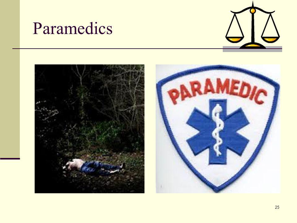 25 Paramedics