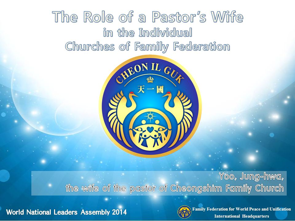 Family Federation for World Peace and Unification International Headquarters