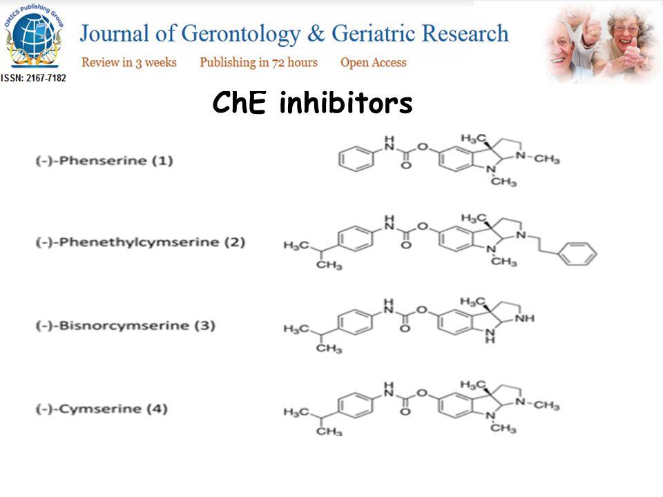 ChE inhibitors
