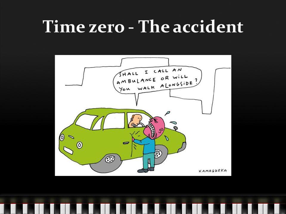 Time zero - The accident