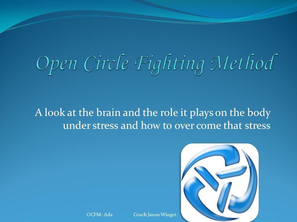 Three types of brains OCFM- Ada Coach Jason Winget Cognitive brain Emotional brain Reptilian brain