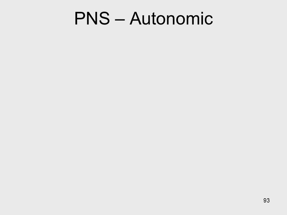 93 PNS – Autonomic