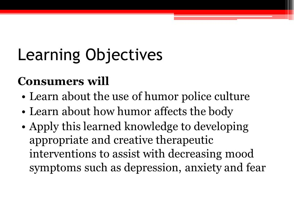 Program 1.Police Culture 2.Dark Humor in the Police Culture 3.Neuropsychology and Humor 4.Intervention and Prevention of Medical and Mental Illness
