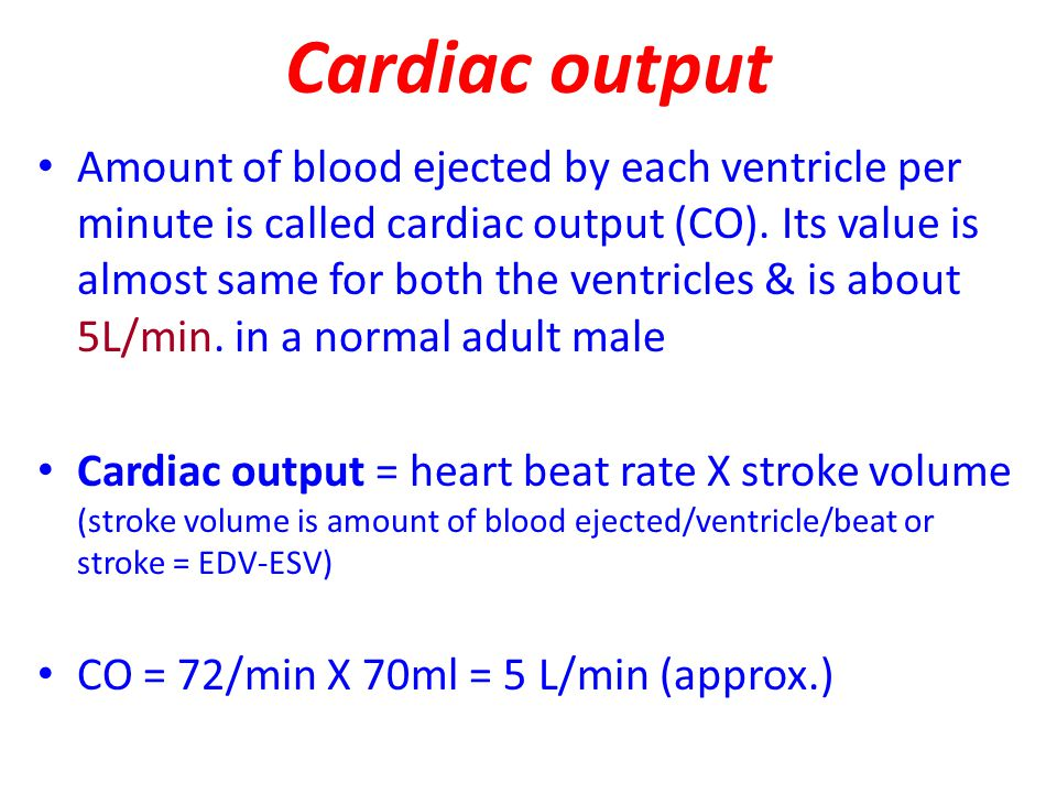 Cardiac index: CI is the cardiac output per square meter of body surface area.