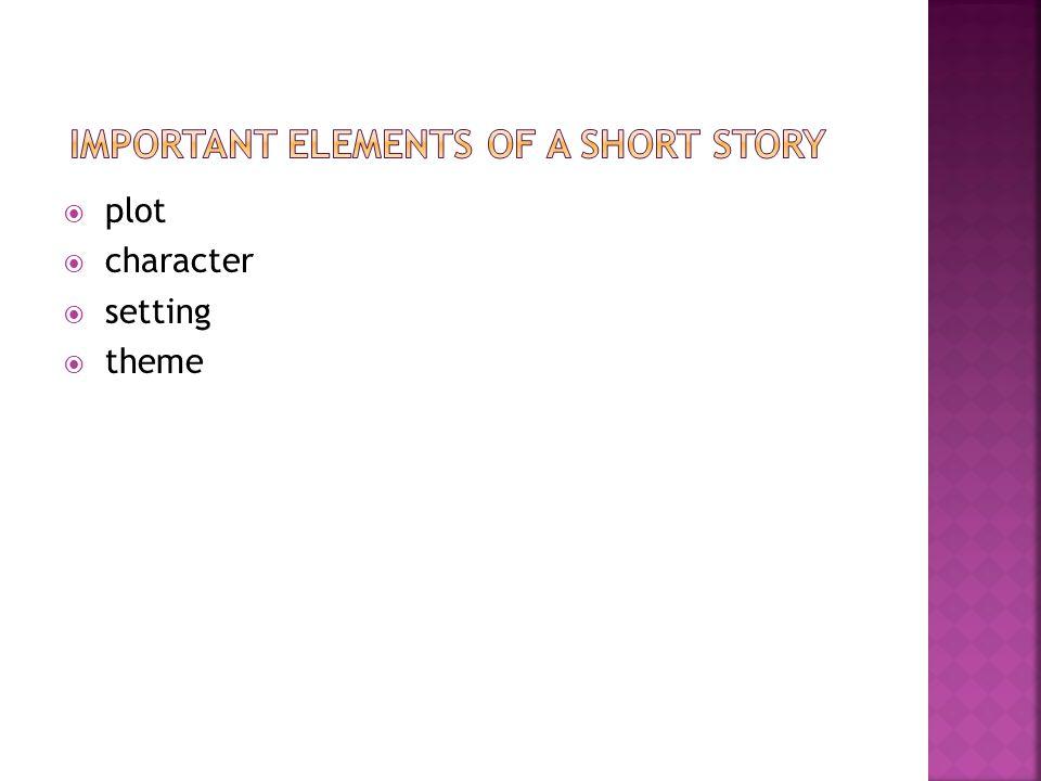  plot  character  setting  theme