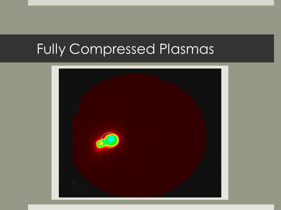 Fully Compressed Plasmas 11