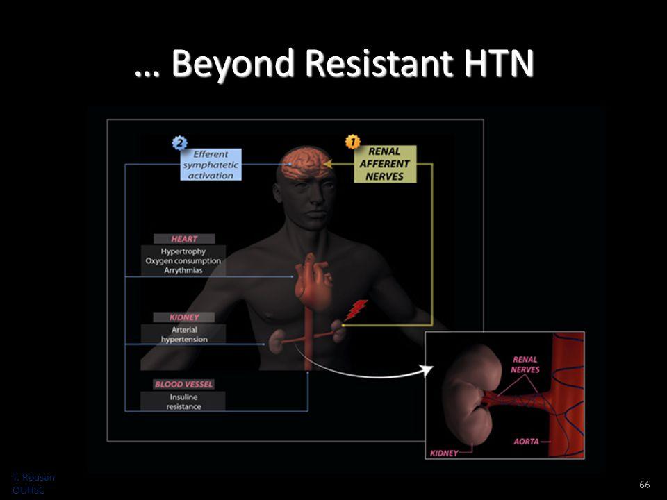 … Beyond Resistant HTN 66 T. Rousan OUHSC