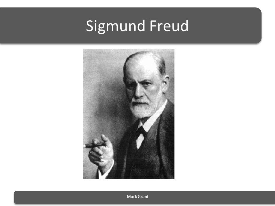 Sigmund Freud Mark Grant