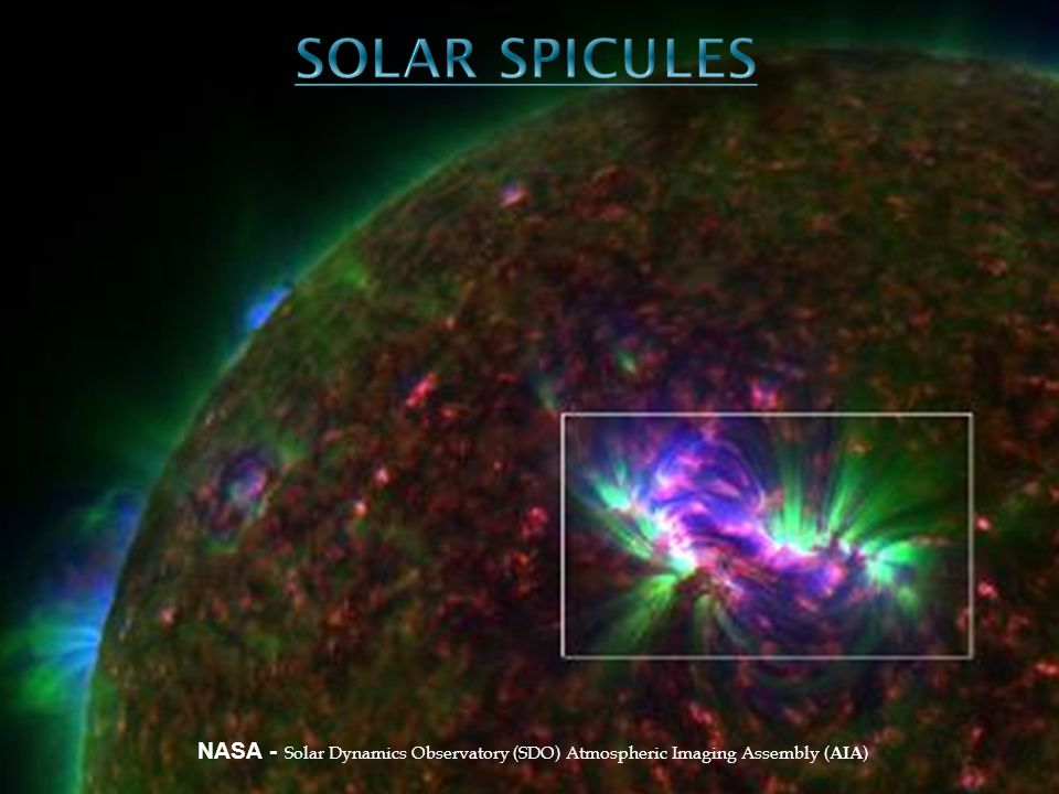 NASA - Solar Dynamics Observatory (SDO) Atmospheric Imaging Assembly ( AIA )