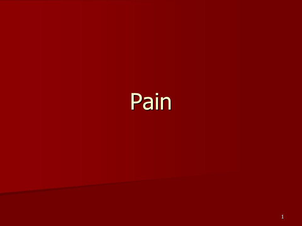 1 Pain