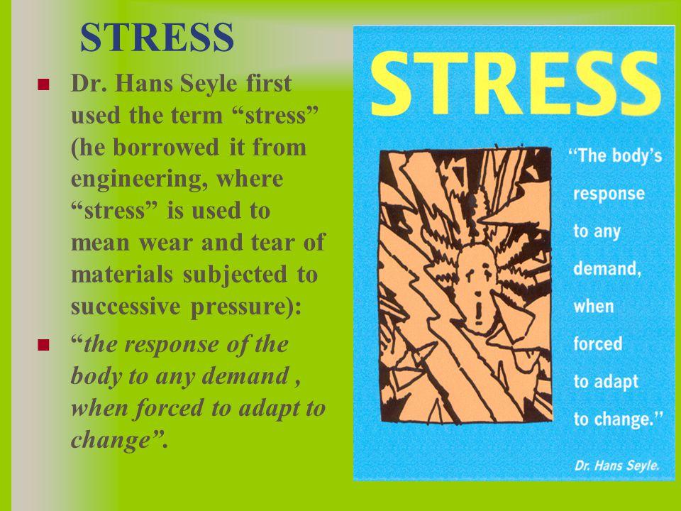 STRESS Dr.