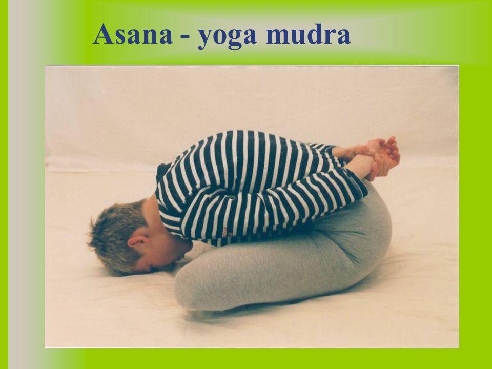 Asana - yoga mudra