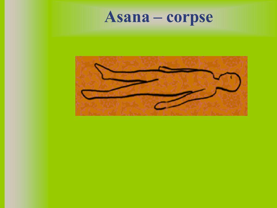Asana – corpse