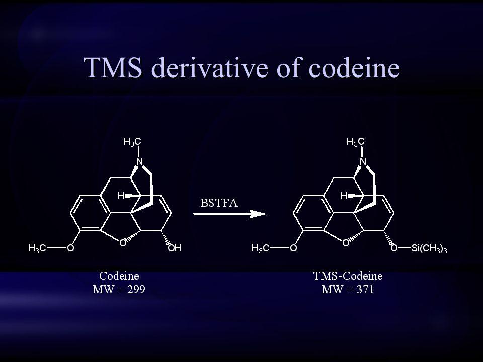 TMS derivative of codeine