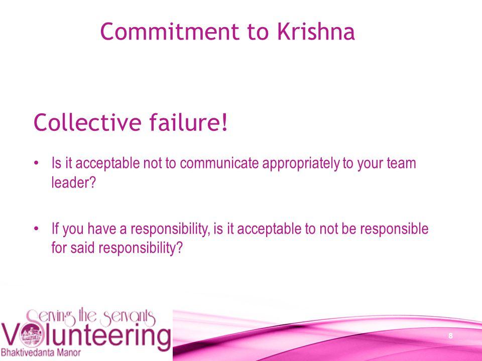 19 Commitment to Krishna Thank you