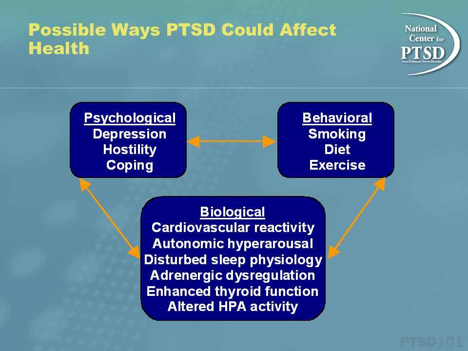 Possible Ways PTSD Could Affect Health