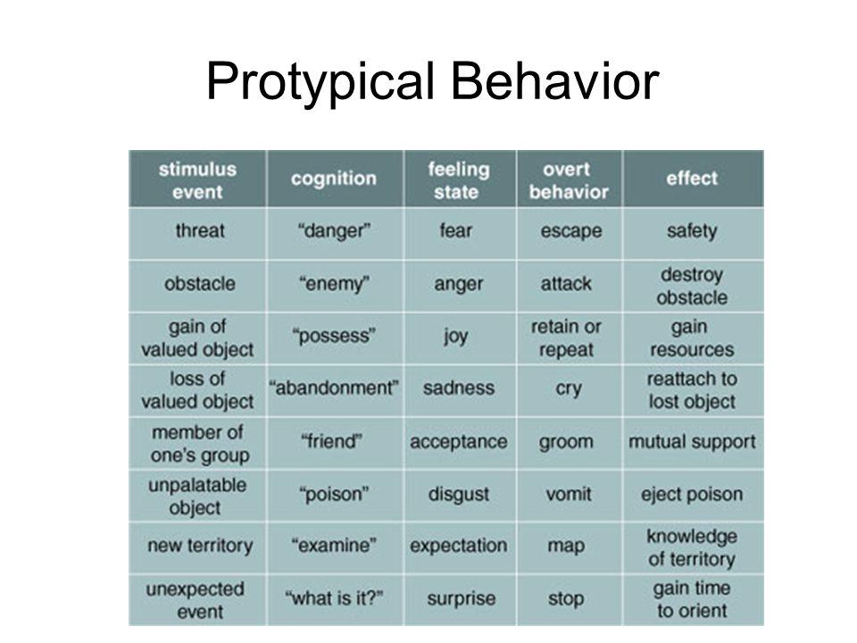 Protypical Behavior
