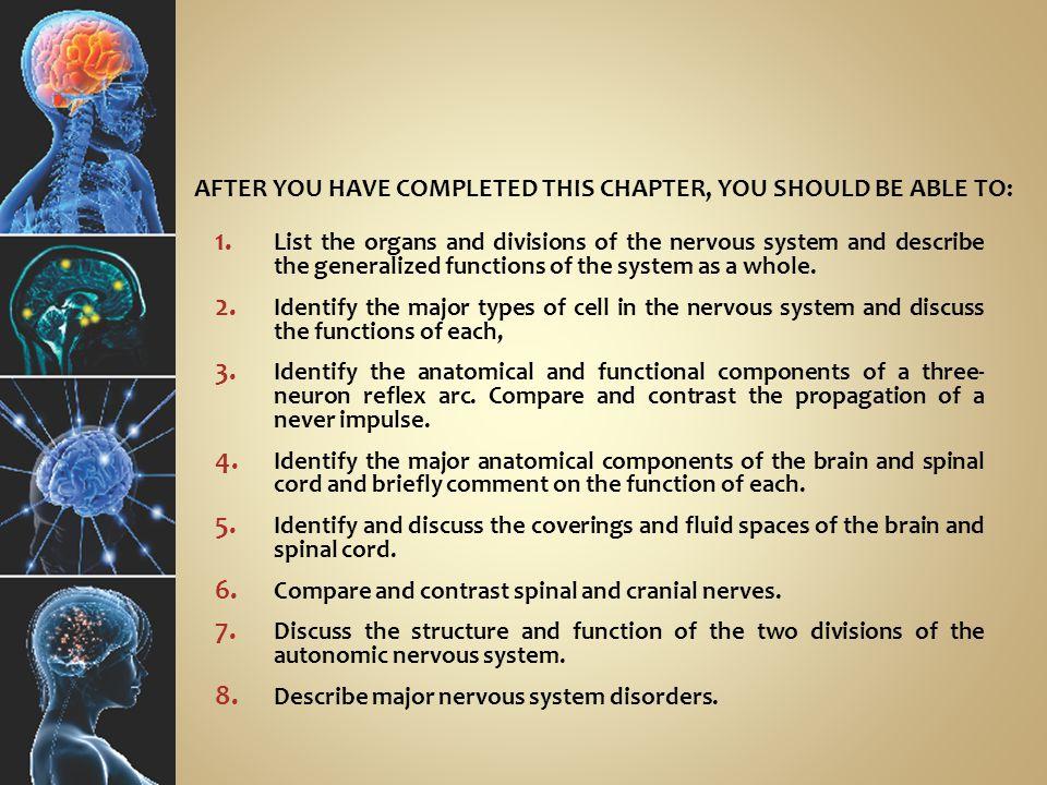 A UTONOMIC N ERVOUS S YSTEM G.Disorders of the autonomic nervous system 1.