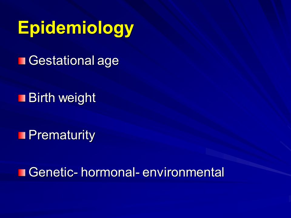 Infertility –Bilateral or unilateral UDT –Early or delayed orchiopexy Neoplasia –10% of T.