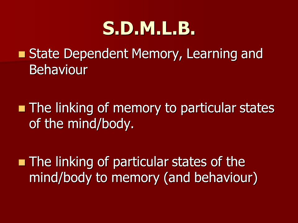 S.D.M.L.B.