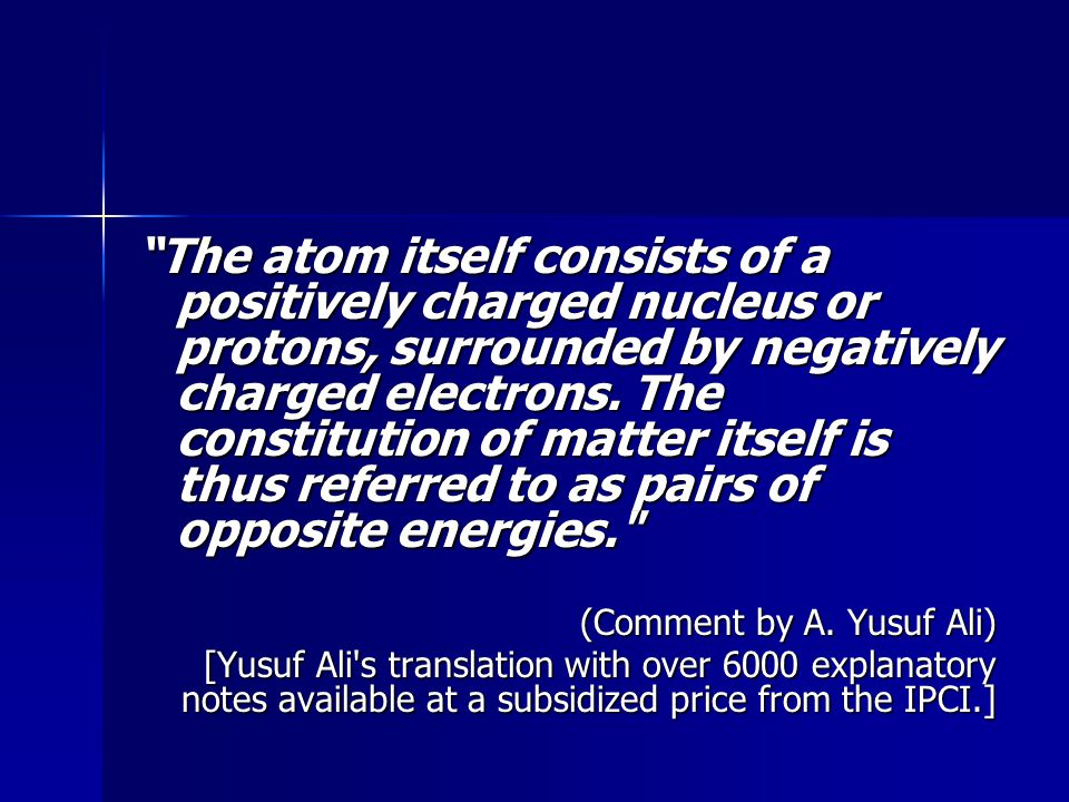 The atom itself consists of a positively charged nucleus or protons, surrounded by negatively charged electrons.